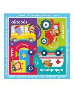 Libro puzzlebooks transportes