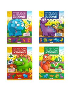 Libro para colorear y actividades DINO 'Varios modelos'