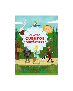 Libro cuatro cuentos fantasticos