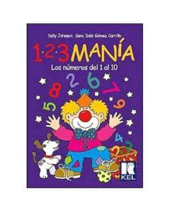 Libro 123Manía los números del 1 al 10