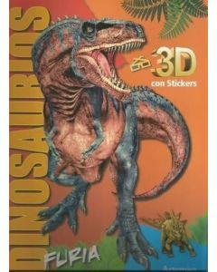 Libro dinos 3D furia