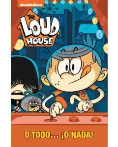 Libro The Loud house O todo o Nada