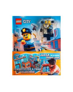 Lego city persecución a toda velocidad
