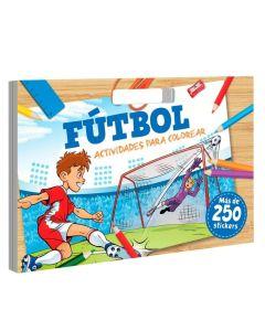 Libro Futbol actividades para colorear