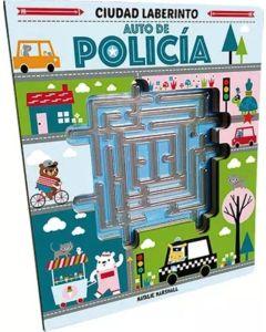 Libro auto de policia ciudad laberinto