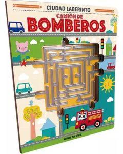Libro camion de bomberos Ciudad Laberinto