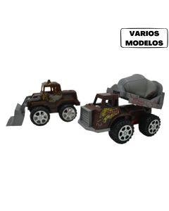 Vehiculos de construcción pull back 'Varios modelos'