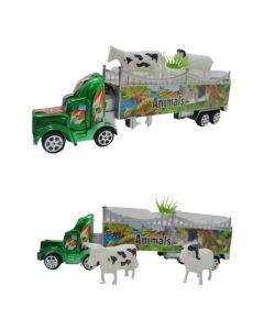 Camion mosquito con transporte de animales